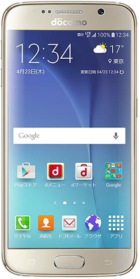 Galaxy S6 SC-05G